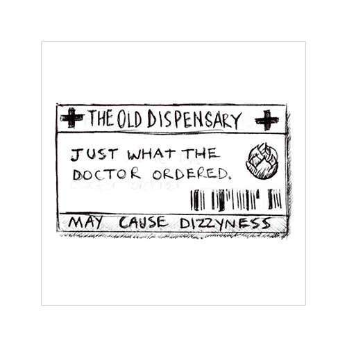 the old dispensary logo concept 5