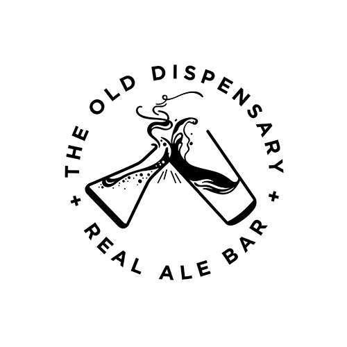 the old dispensary logo design 2