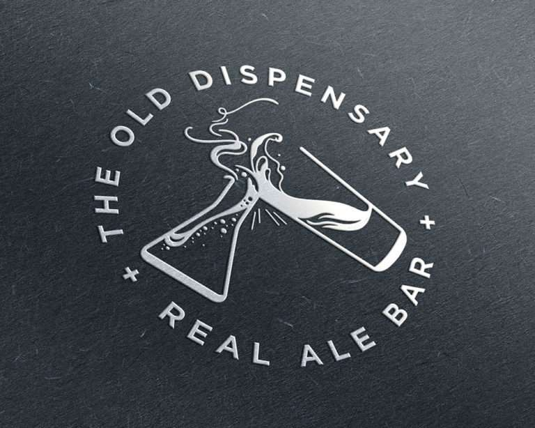 the old dispensary logo