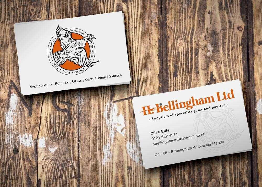 H Bellingham business cards