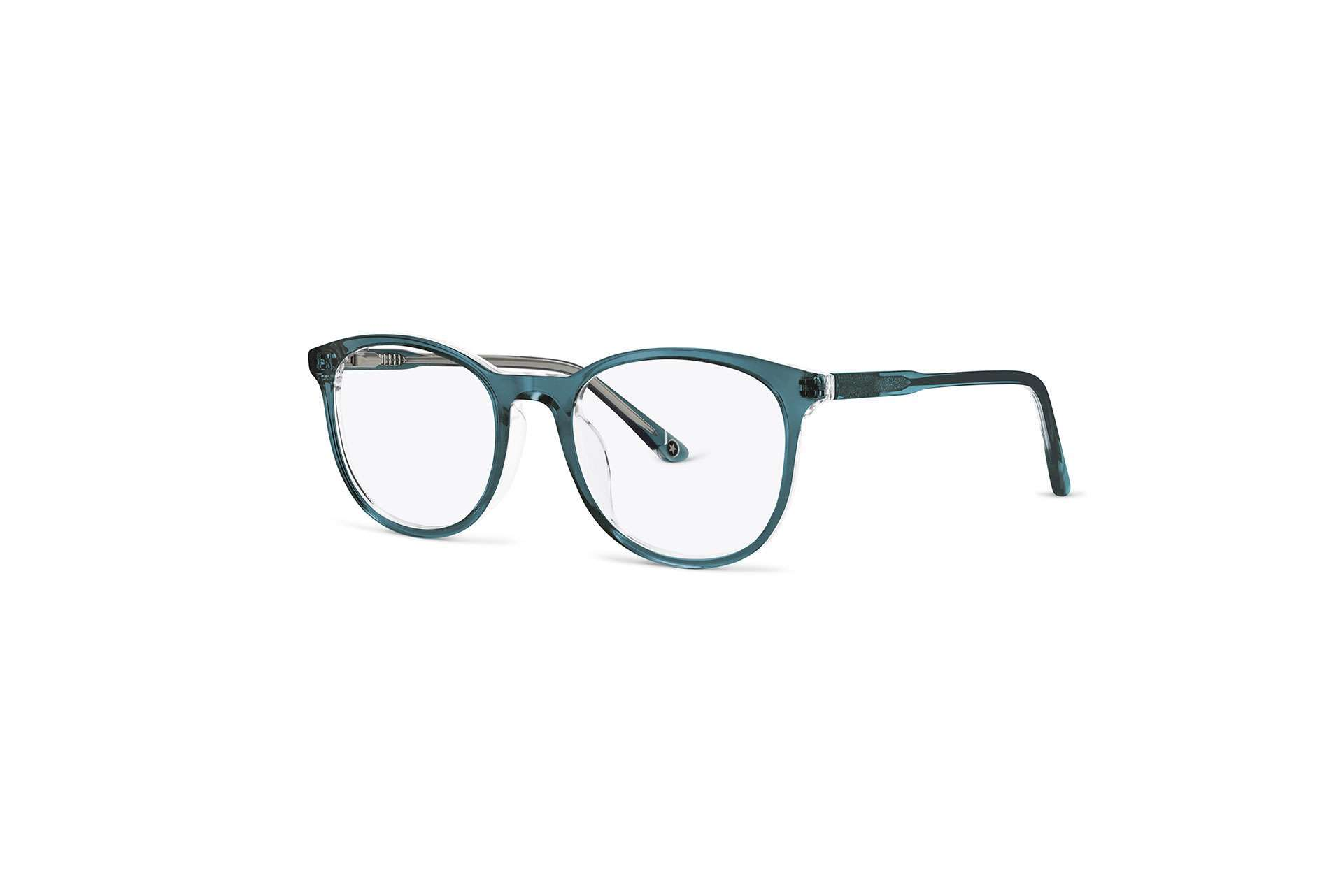 Ecommerce glasses with transparency retouching after