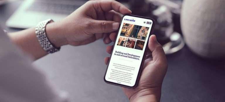 lancaster build mobile responsive